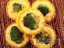 Рецепта Солени царевични мъфини с броколи, моркови и шунка